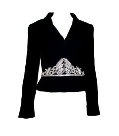 Iconic Chanel Signature Crystal Beaded Evening Jacket like Haute Couture