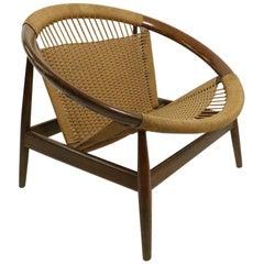 Iconic Danish Modern Ringstol Chair by Illum Wikkelso