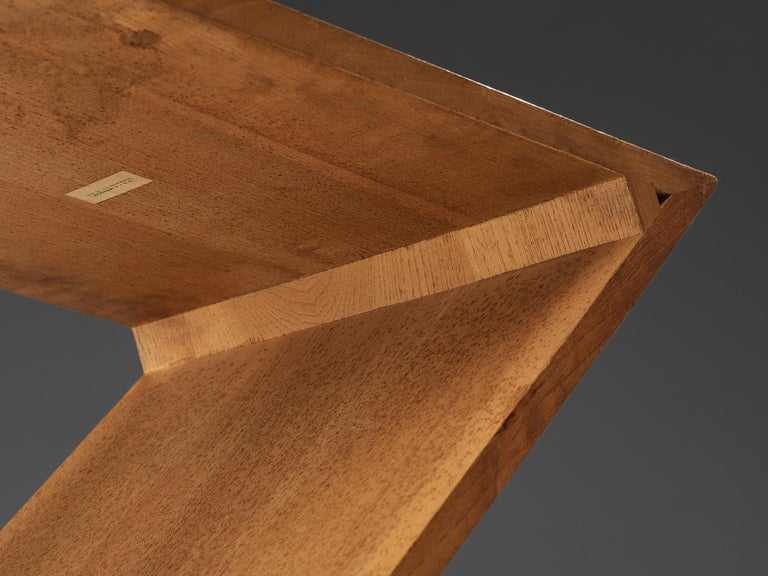Iconic Gerrit Rietveld for Groenekan 'Zig Zag' Chair in Elm For Sale 3