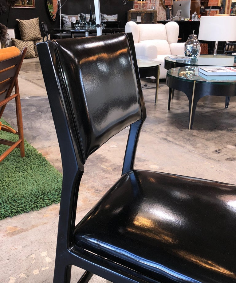 Iconic Gio Ponti Chairs, Italy 1958, Set of Six For Sale 3