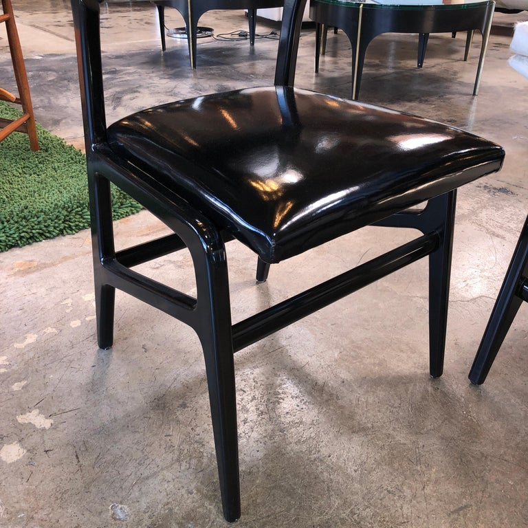 Iconic Gio Ponti Chairs, Italy 1958, Set of Six For Sale 5
