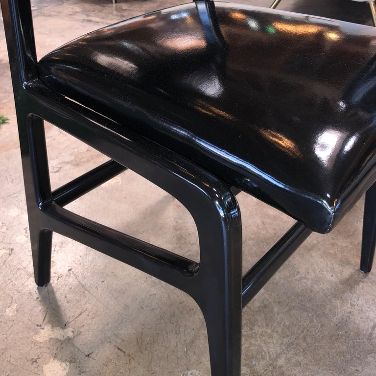 Iconic Gio Ponti Chairs, Italy 1958, Set of Six For Sale 6