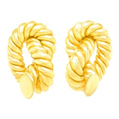 Iconic Gold Rope Earrings
