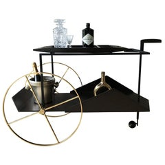 "Iconic ""JZ "" Tea Trolley by ETEL"