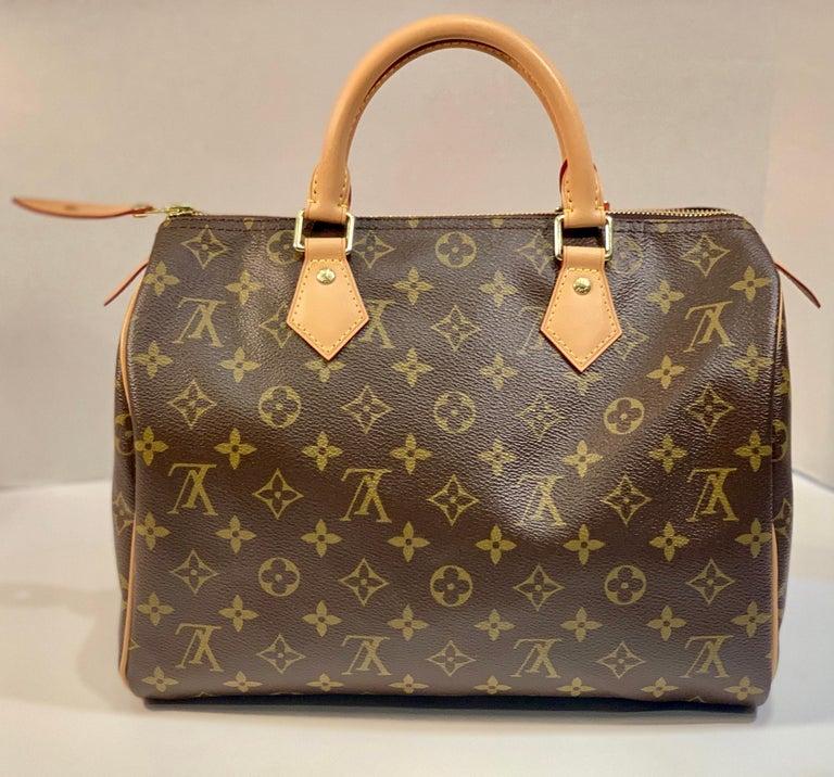 Black Iconic Louis Vuitton Speedy 30 Handbag Limited Edition Grenade V Monogram Canvas For Sale