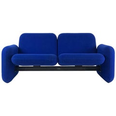 "Iconic Modern Design 1970s ""Chiclet"" Sofa Settee by Ray Wilkes for Herman Miller"