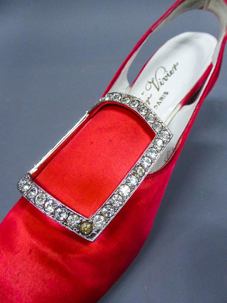 Iconic Pair of Roger Vivier Pumps  Circa 1970 For Sale 8