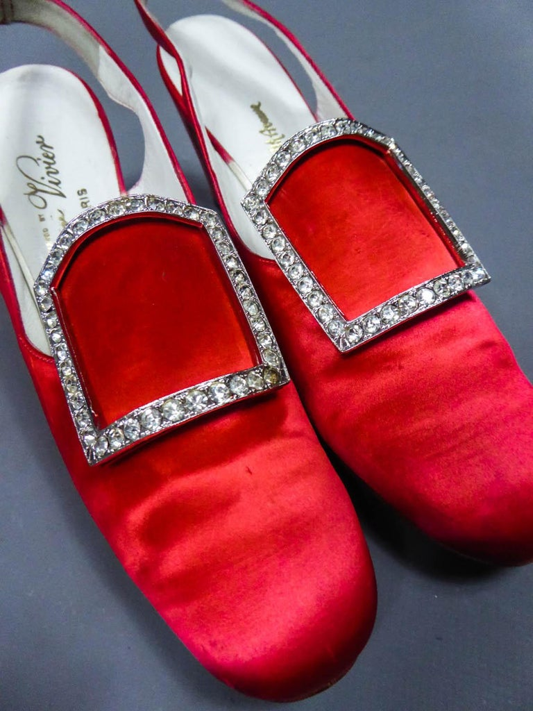 Iconic Pair of Roger Vivier Pumps  Circa 1970 For Sale 10