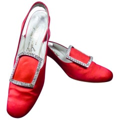 Iconic Pair of Roger Vivier Pumps  Circa 1970
