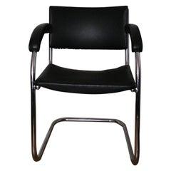 Iconic SP9 Chrome Cantilever Chair by PEL 'Practical equipment ltd' bauhaus