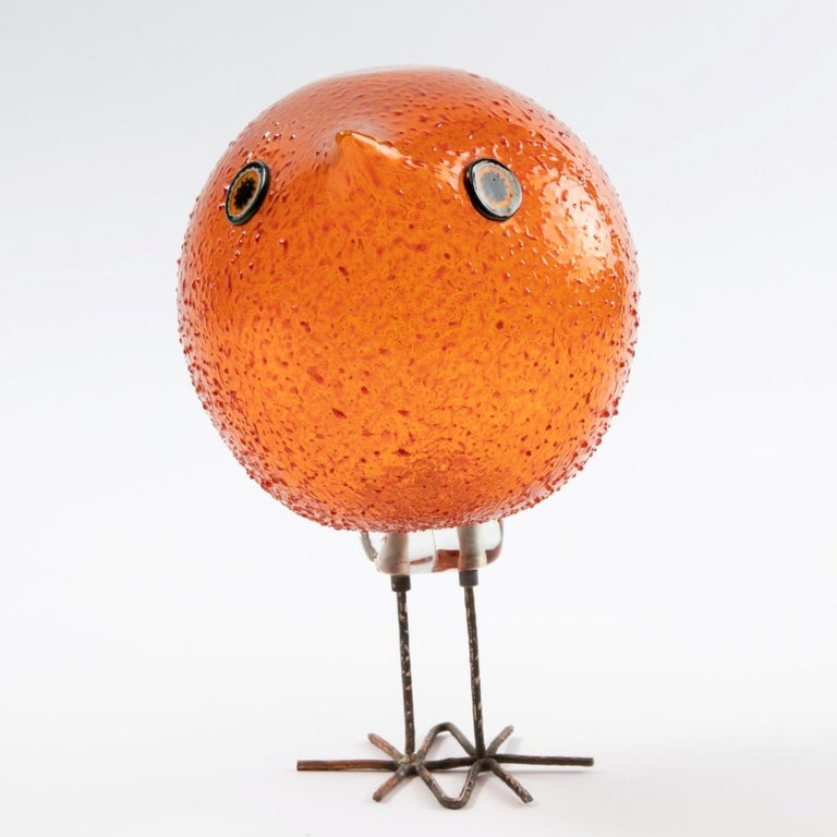 Pulcino Glass bird, Alessandro Pianon, Vetreria Vistosi Murano  For Sale 1