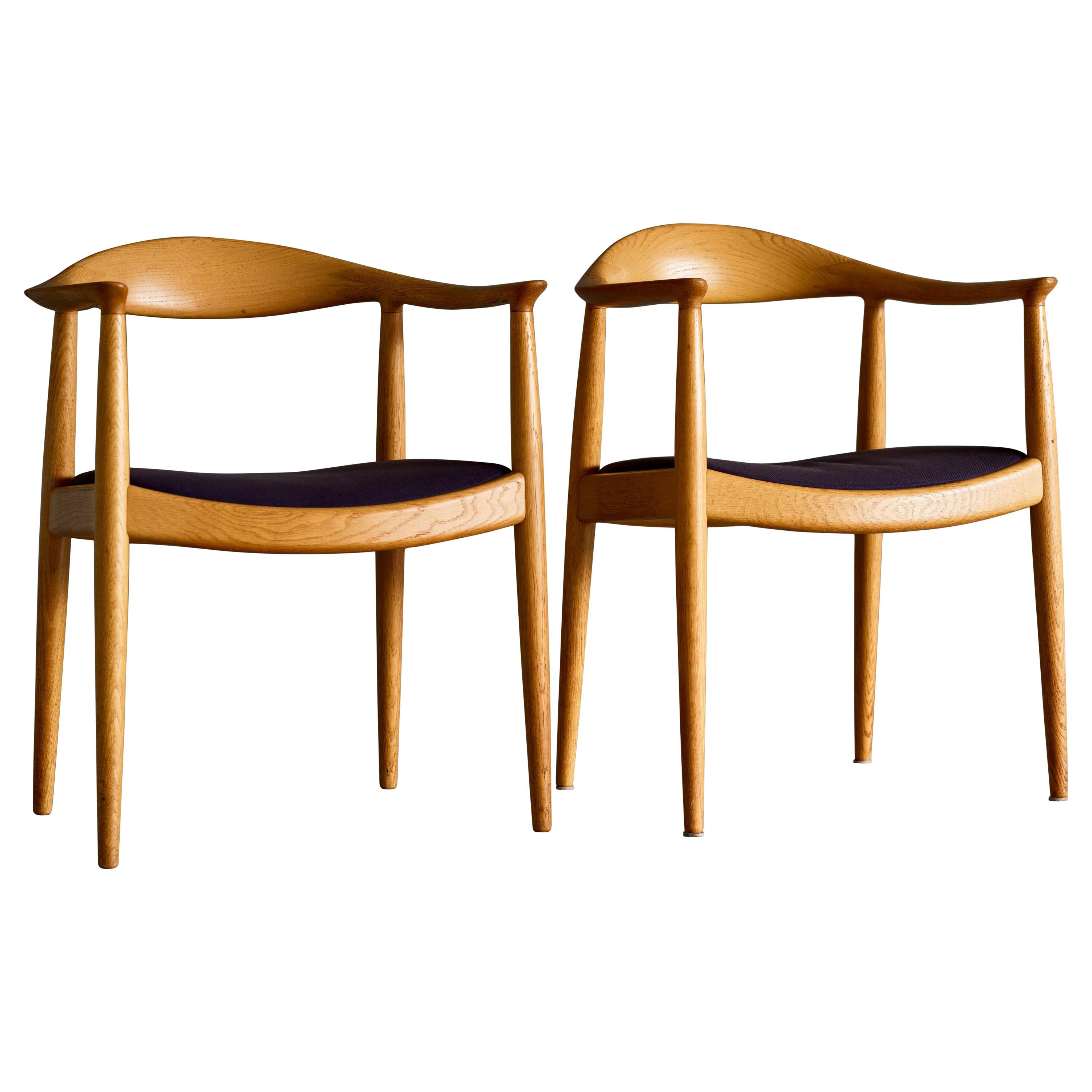 """Iconic, """"The Chair"""" by Hans Wegner in Oak"""