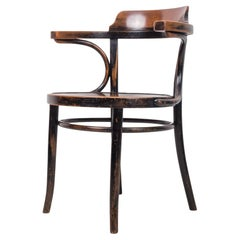 Iconic Thonet Chair Designed by M. Thonet, Bentwood, 1920s