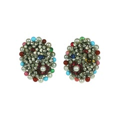 Iconic Valentino Earrings by Maison Gripoix