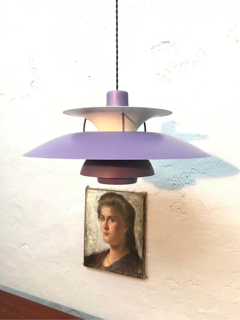 Iconic Vintage Poul Henningsen PH 5 Chandelier Pendant Lamp For Sale 8