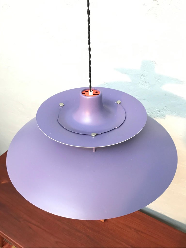 Mid-Century Modern Iconic Vintage Poul Henningsen PH 5 Chandelier Pendant Lamp For Sale