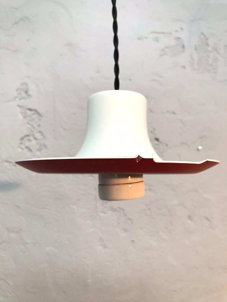 Hand-Crafted Iconic Vintage Poul Henningsen PH 5 Chandelier Pendant Lamp For Sale