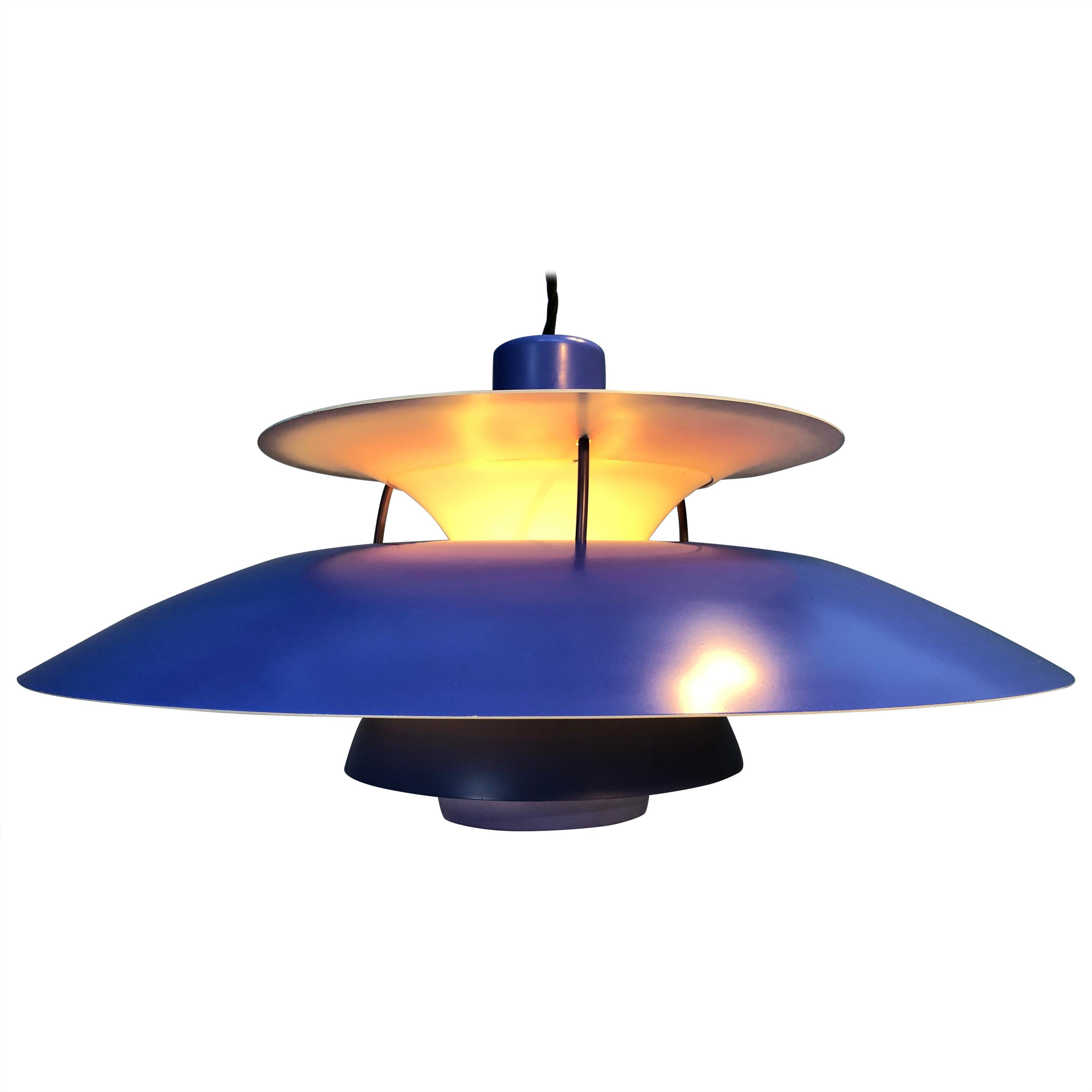 Iconic Vintage Poul Henningsen 2nd Edition PH5 Chandelier Pendant Lamp from 1959