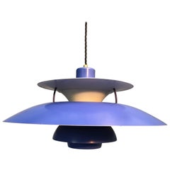 Iconic Vintage Poul Henningsen PH 5 Chandelier Pendant Lamp from 1959