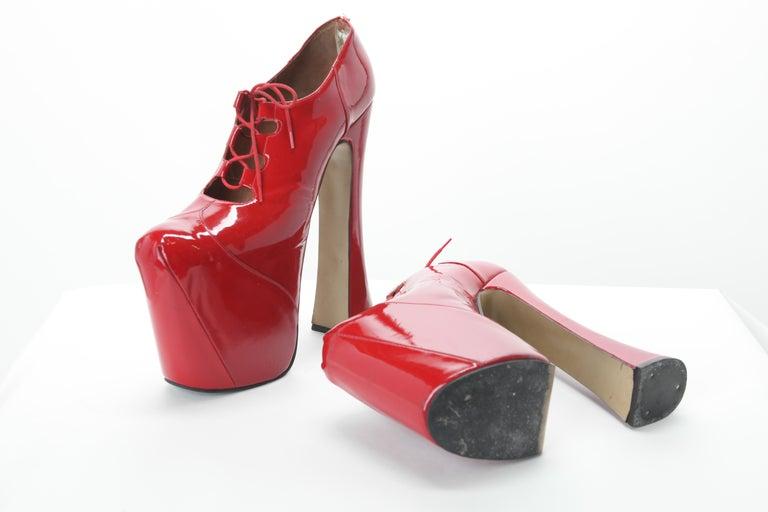 Iconic Vivienne Westwood Elevated Court Shoes c. 1993 sz 11 1