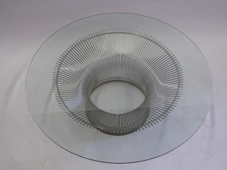 Mid-Century Modern Iconic Warren Platner Coffee Table for Knoll