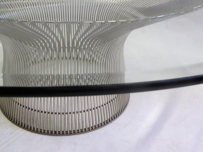 American Iconic Warren Platner Coffee Table for Knoll