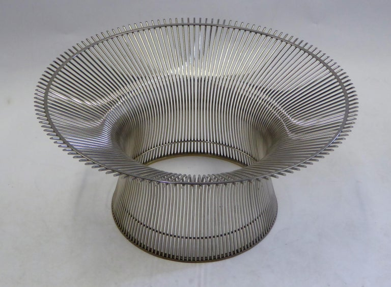 Iconic Warren Platner Coffee Table for Knoll In Good Condition For Sale In Miami, FL