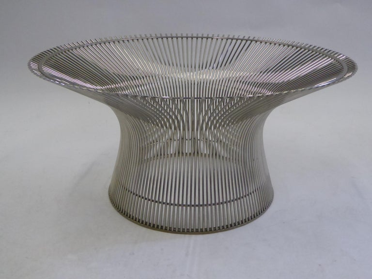Iconic Warren Platner Coffee Table for Knoll For Sale 1