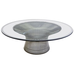 Iconic Warren Platner Coffee Table for Knoll