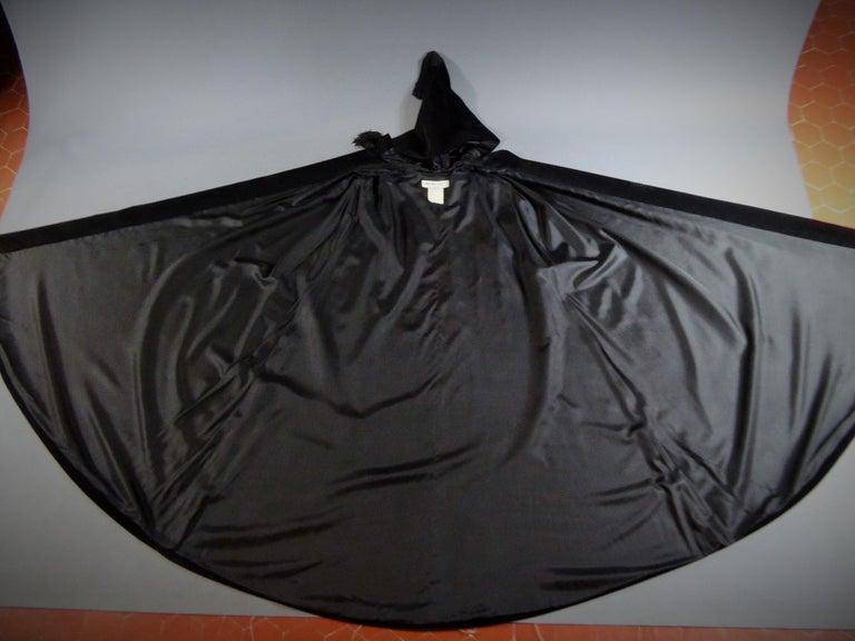 Black Iconic Yves Saint Laurent Rive gauche Velvet
