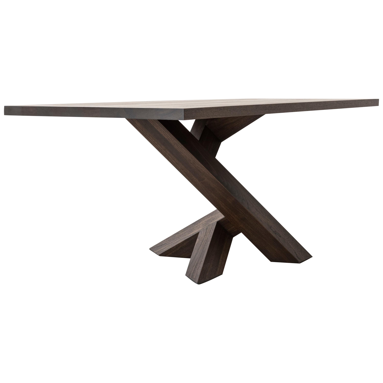 Iconoclast Solid Wood Pedestal Desk by Izm Design