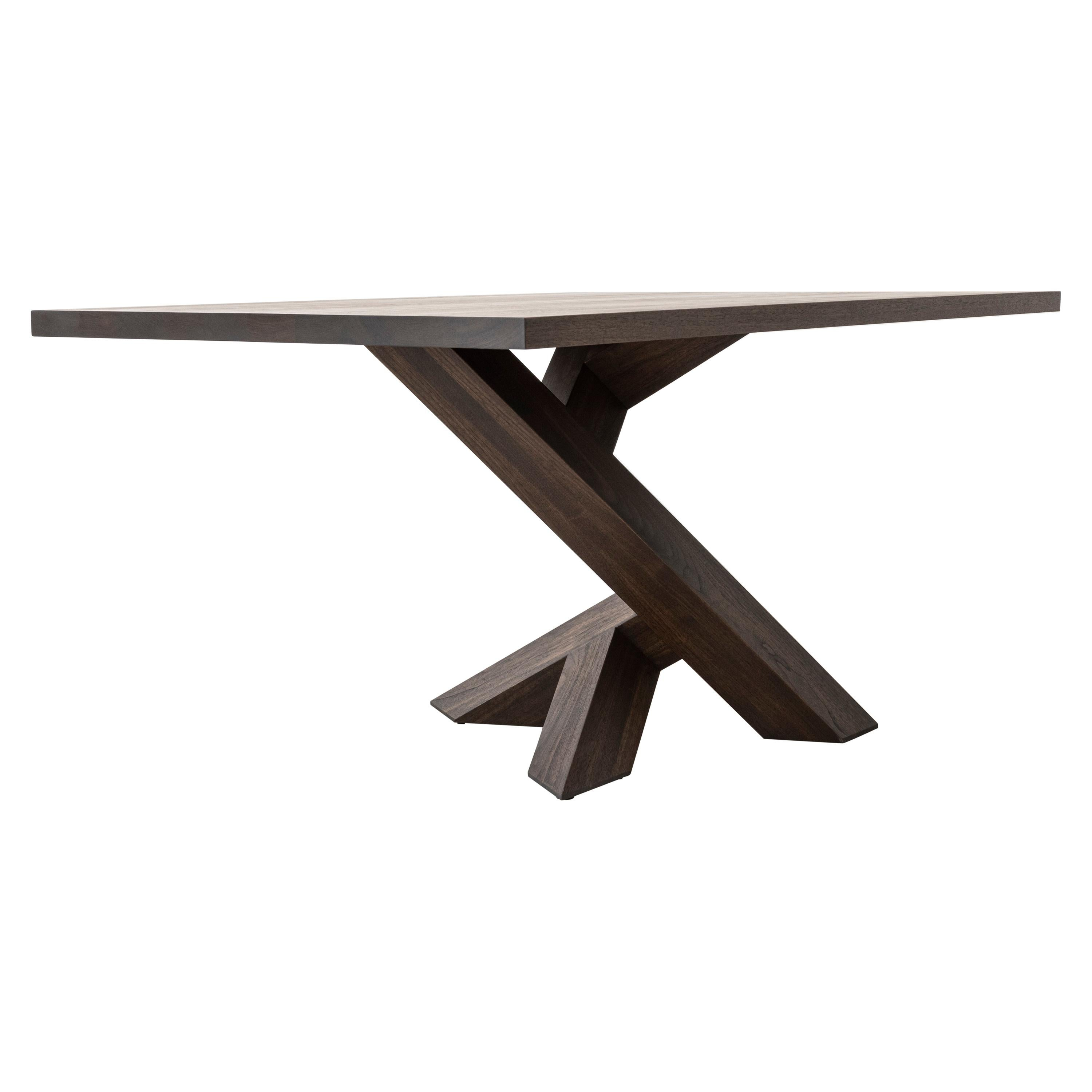 Iconoclast Solid Wood Pedestal Dining Table by Izm Design