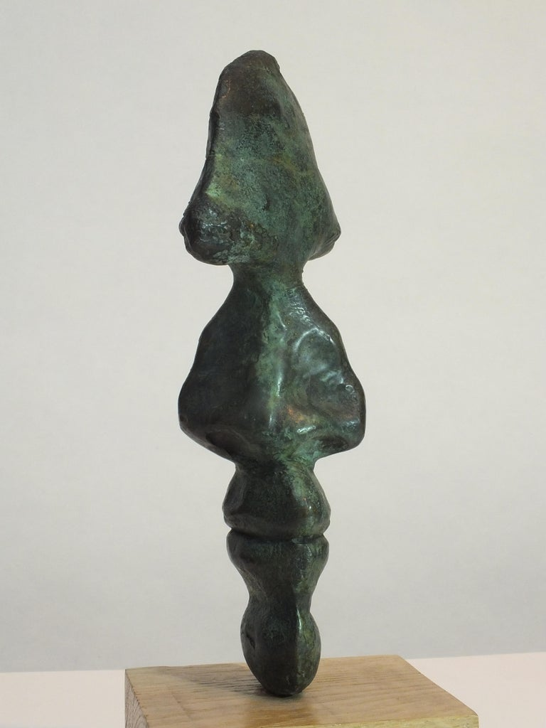 Contemporary I.D. Bronze Sculpture For Sale