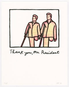 Untitled (Thank you, Mr. President)