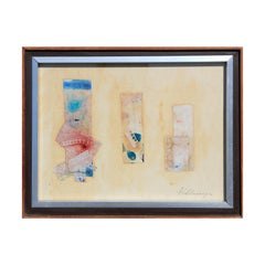 Small Pastel Watercolor Collage