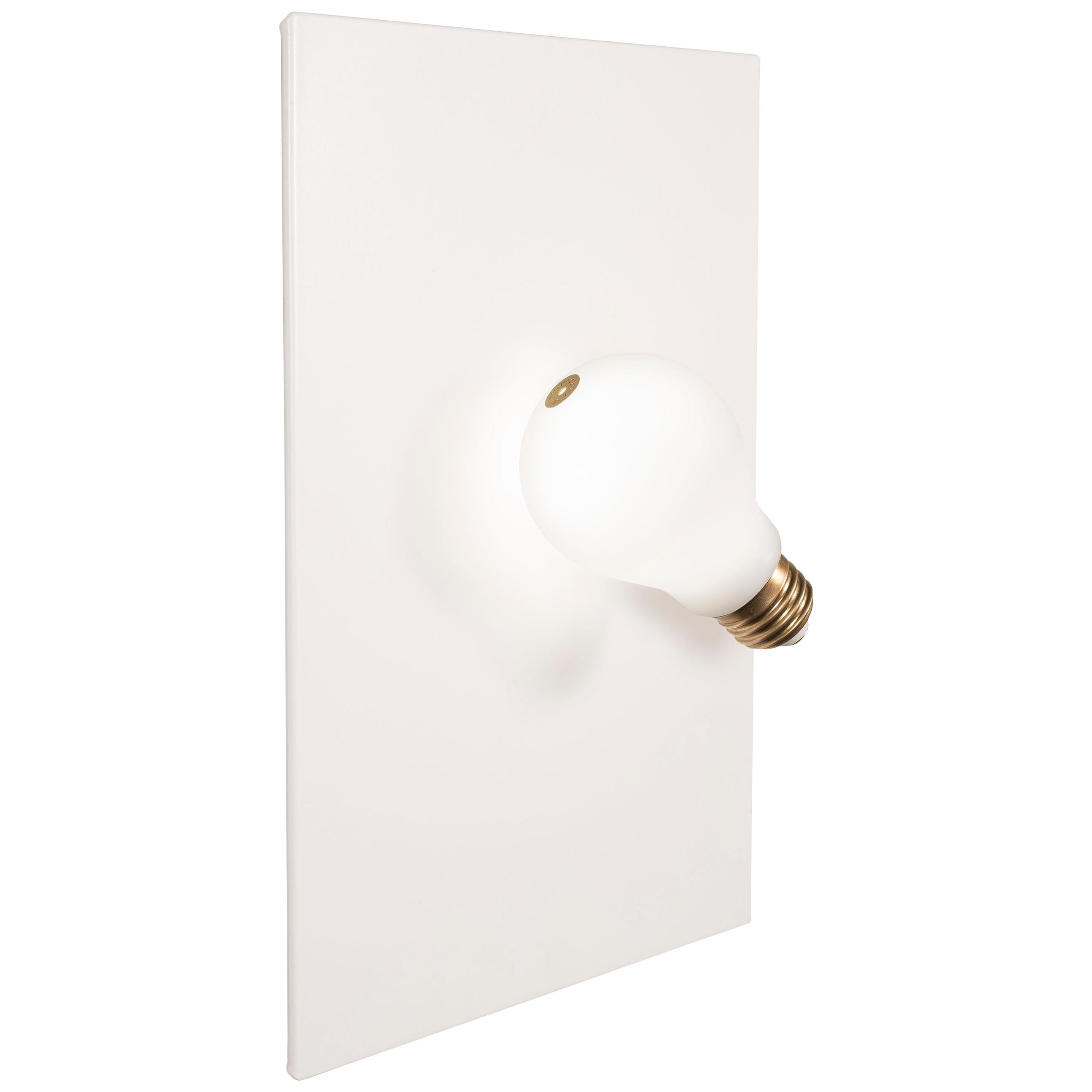 Idea Applique Wall Sconce White by Slamp