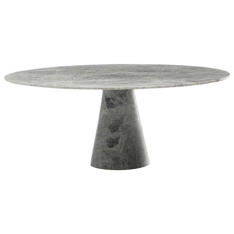 Idee Coffee Table by Christophe Pillet, Contemporary Round Marble Coffee Table For Sale