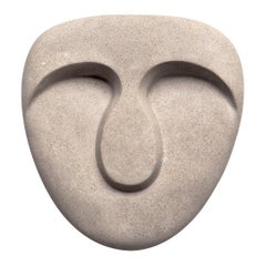 Idoli, Mask Wall Plaster Sculpture