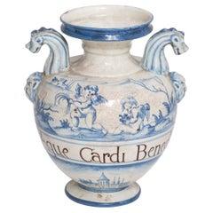 Idria Savona Ceramic Jar by Manetti e Masini
