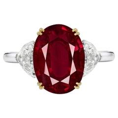 White Diamond Solitaire Rings