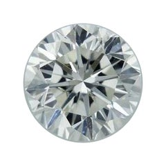 IGI Certified 0.92 Carat Round Brilliant Cut Loose Diamond
