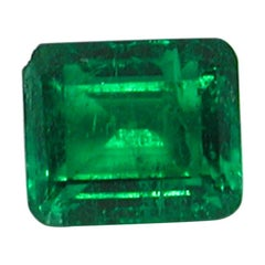 IGI Certified 10.42 Carat Colombia Green Emerald