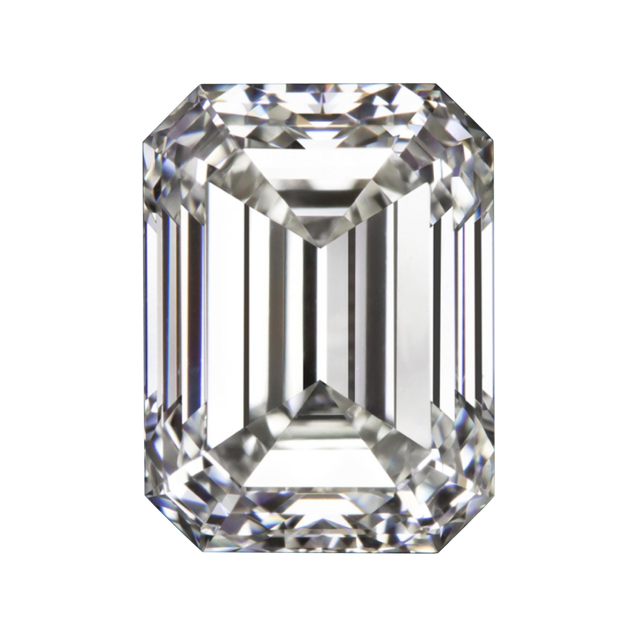 IGI Certified 2.54 Carat Emerald Cut Diamond
