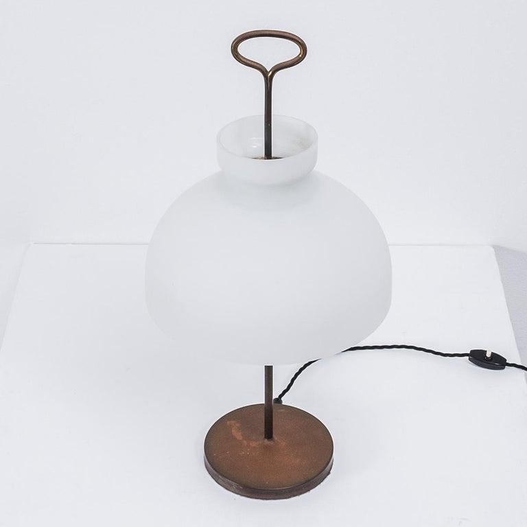Mid-Century Modern Ignazio Gardella Arenzano Lamp for Azucena, Italy, 1956 For Sale