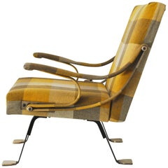 Ignazio Gardella, Digamma reclining armchair for Gavina 1950s