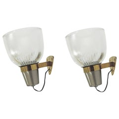 Ignazio Gardella LP5 Sconces for Azucena, Italy, 1950