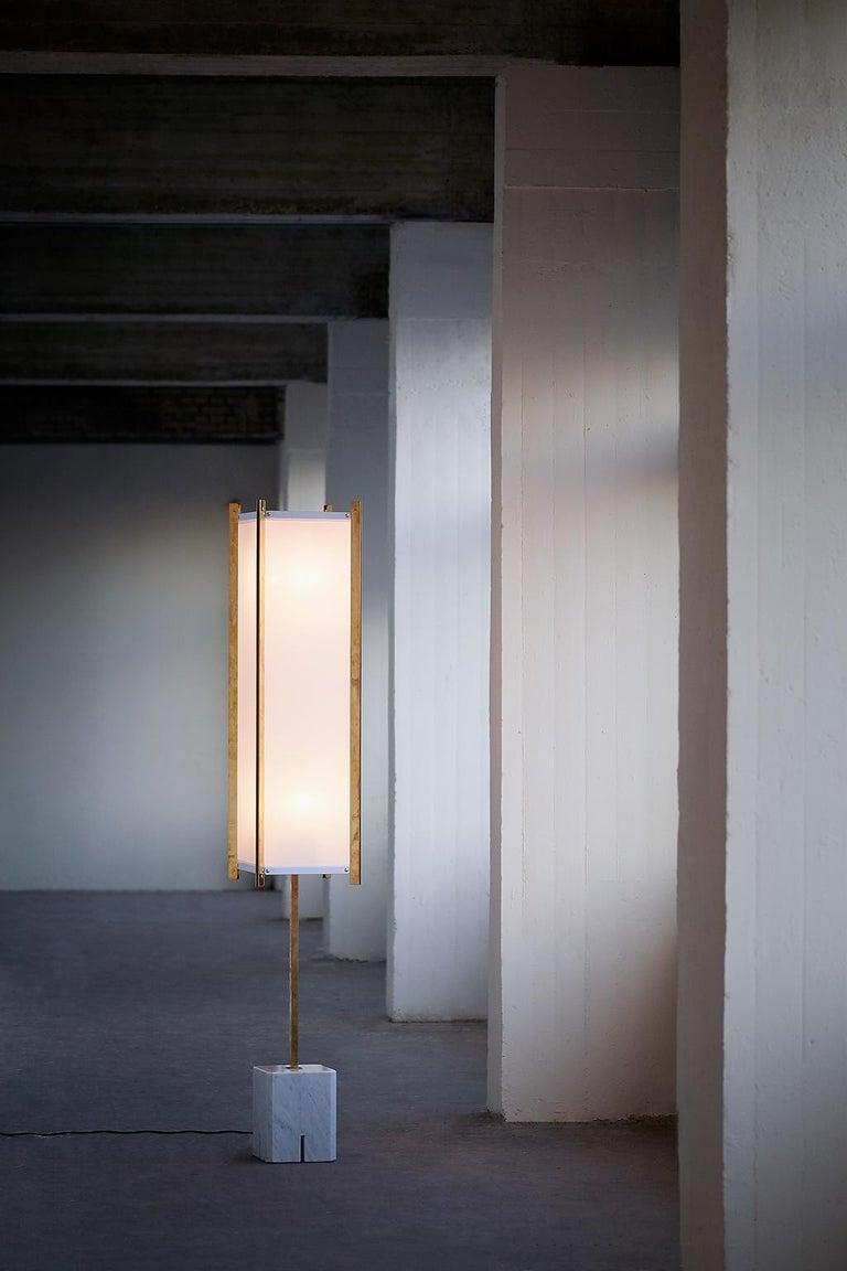 Ignazio Gardella LTE12 Prisma Floor Lamp, Azucena, 1960s For Sale 2