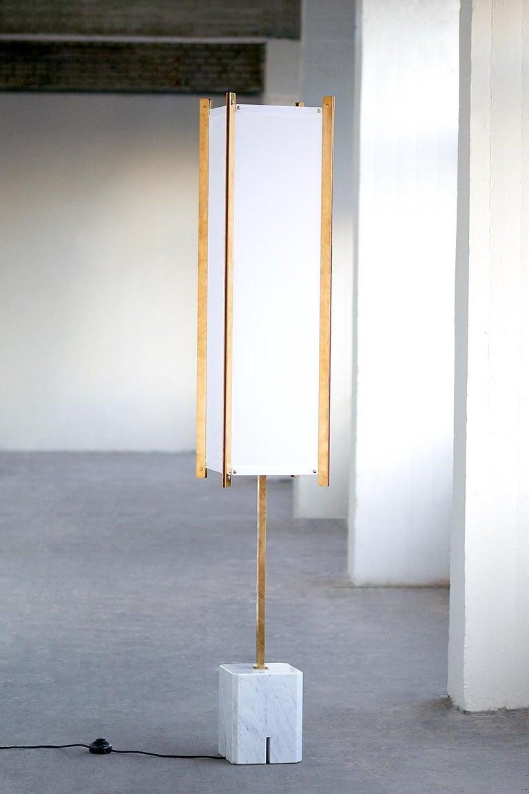 Ignazio Gardella LTE12 Prisma Floor Lamp, Azucena, 1960s For Sale 3