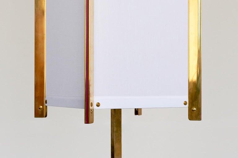 Italian Ignazio Gardella LTE12 Prisma Floor Lamp, Azucena, 1960s For Sale