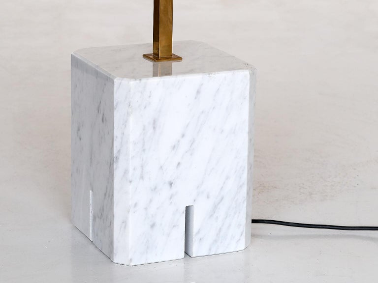 Ignazio Gardella LTE12 Prisma Floor Lamp, Azucena, 1960s In Good Condition For Sale In The Hague, NL